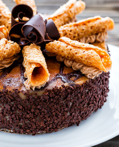 Parline Toffee Cheesecake